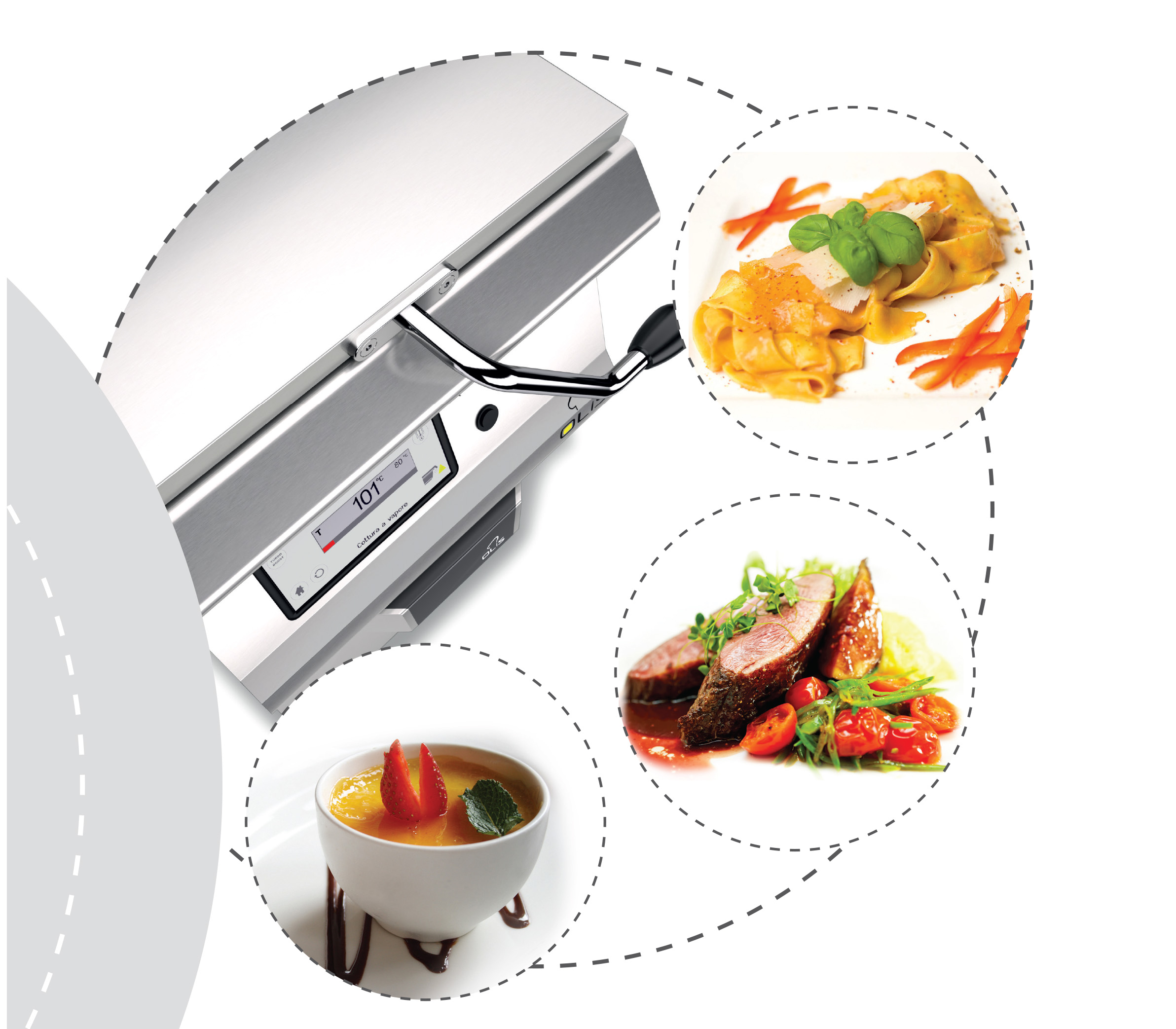 Multifunction Fit-pan, a jolly for your kitchen.